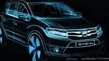 Dacia Logan II, Sandero II, Sandero II Stepway sketches