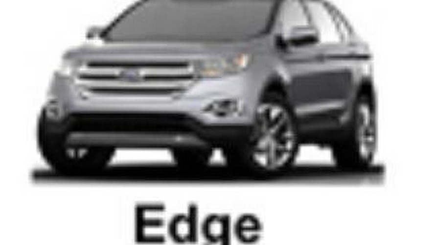 Ford Edge concept to debut in Los Angeles, closely preview the production model - report