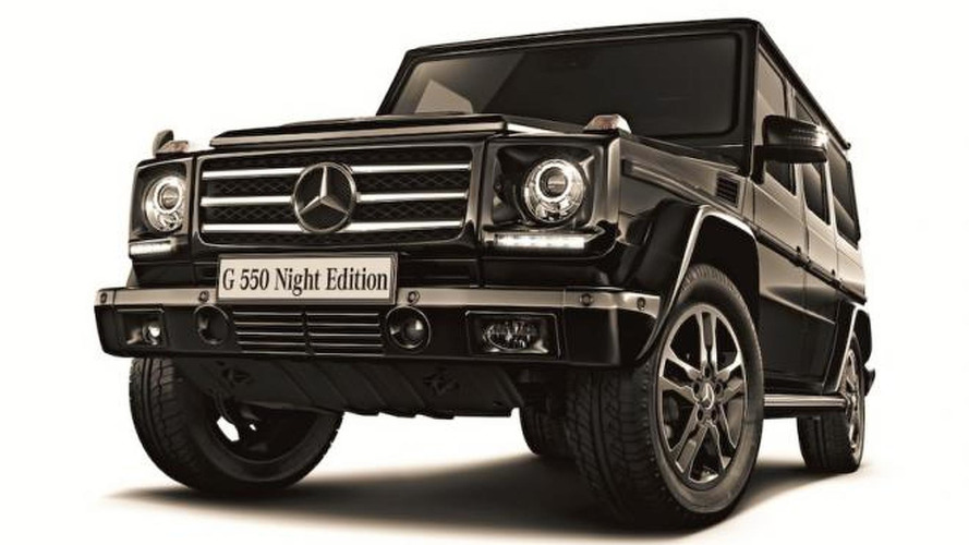 Mercedes-Benz launches Japan-exclusive G550 Night Edition