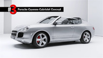 This Porsche Cayenne Cabriolet concept has never been seen before