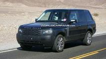 2011 Range Rover facelift spy photo