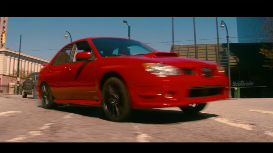 Baby Driver movie has a Subaru WRX getting fast and furious this summer