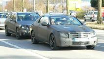 New Mercedes CLK & E-Class Together Spy Photos