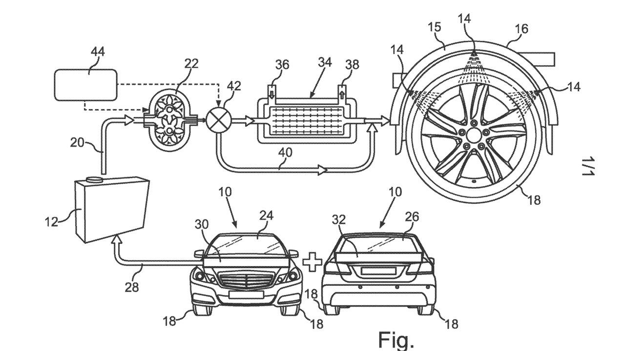 Mercedes-Benz patent