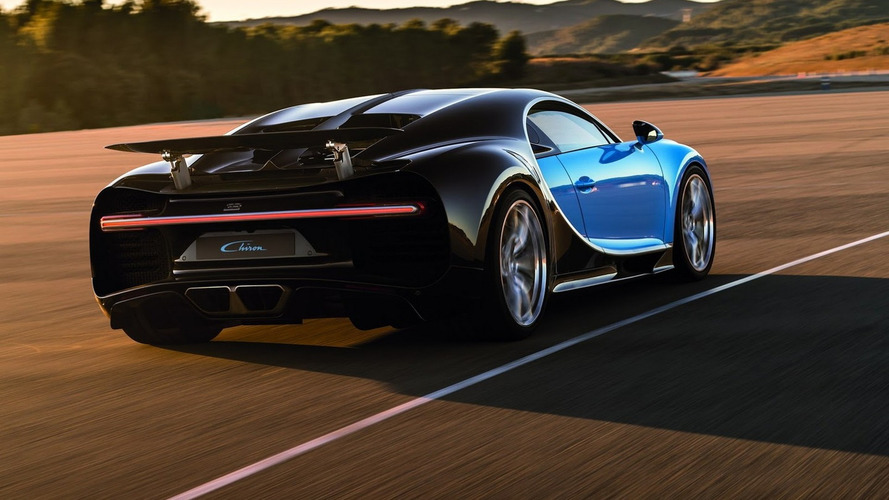 Bugatti Chiron hybrid component considered to make more power