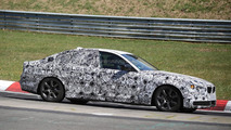 Next generation BMW 5-Series spied testing on the Nurburgring