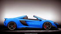 McLaren 675LT Spider reportedly coming next year