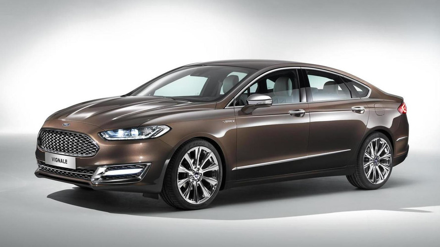 Ford unveils range-topping Vignale Mondeo priced at £29,045