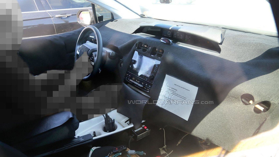2016 Toyota Prius spied inside & out