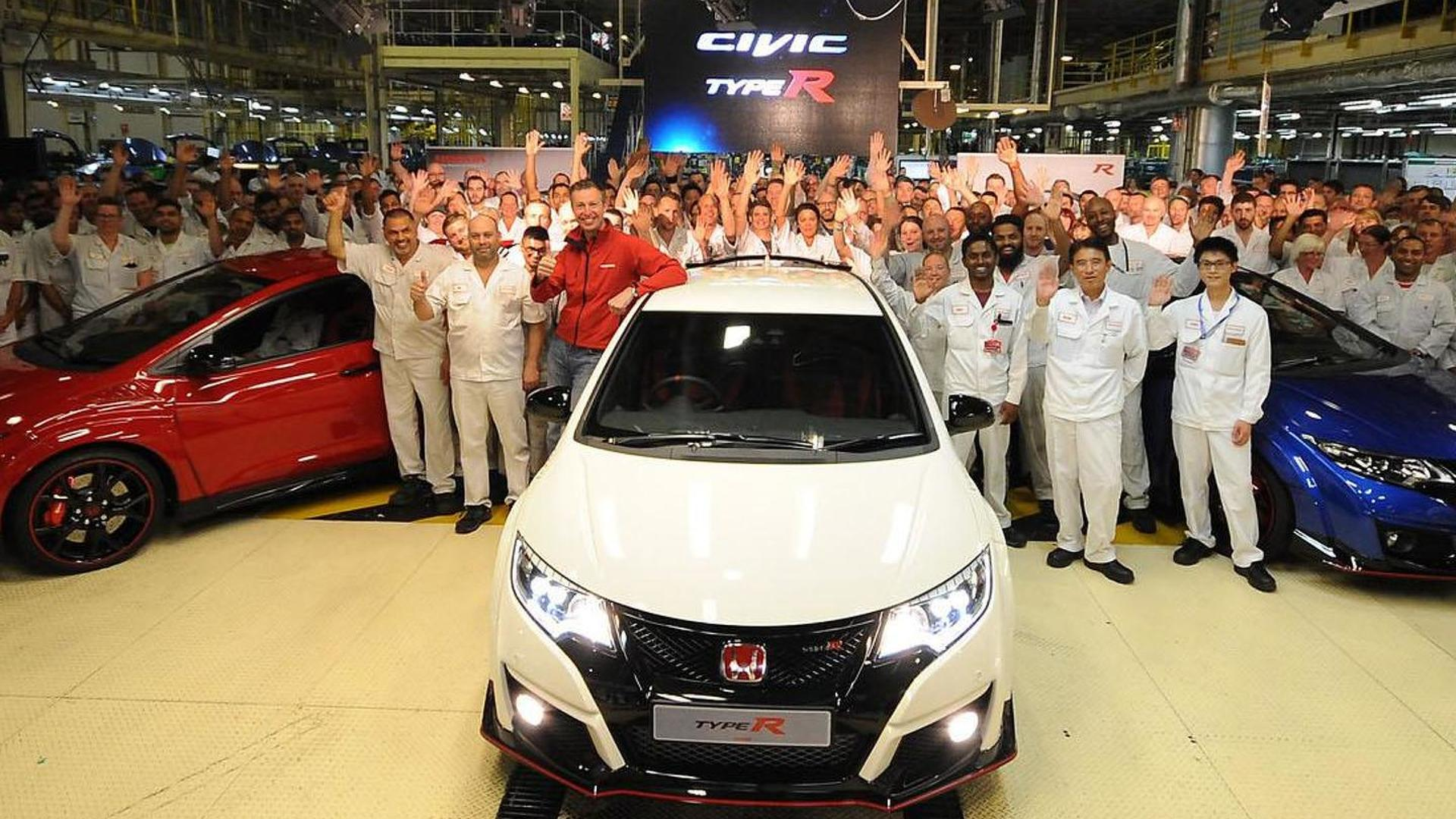 Honda Civic Type R goes into production