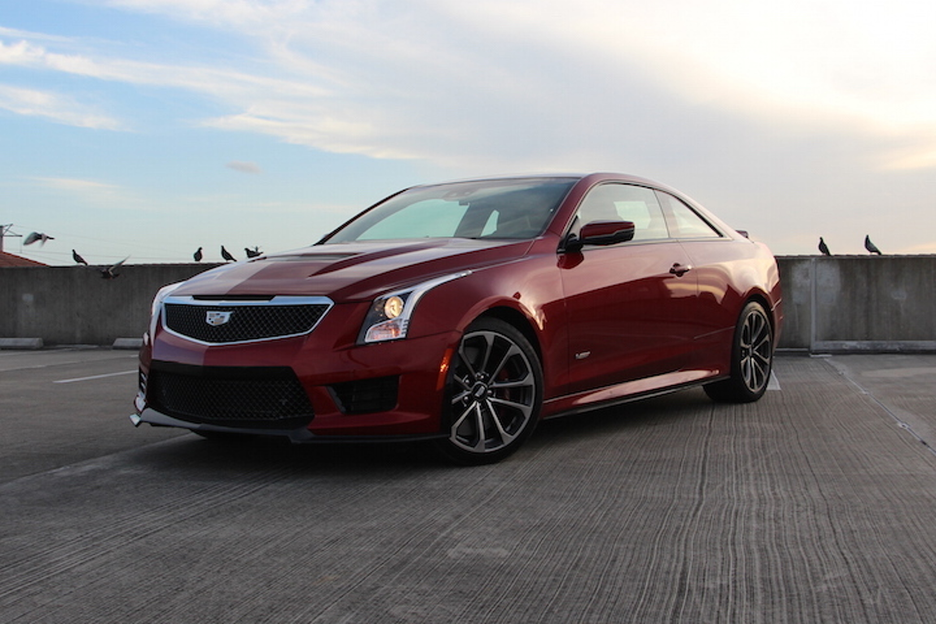The 2016 cadillac ats v coupe sends germany back to the for The drawing board