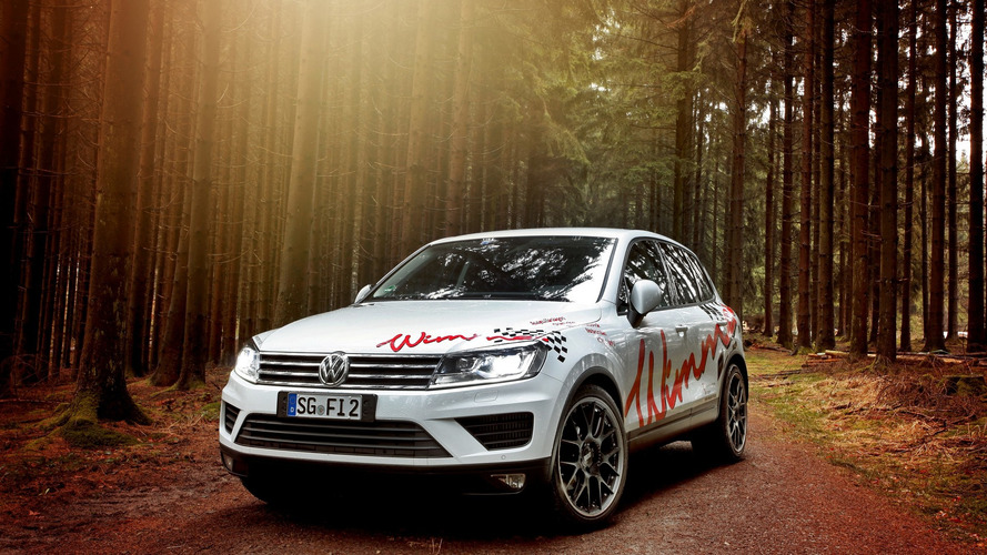 Tuner spices up VW Touareg with more power
