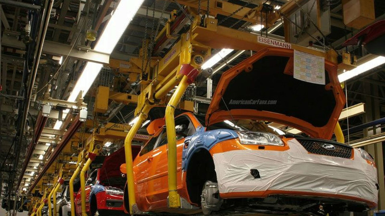 New Ford Focus ST Production