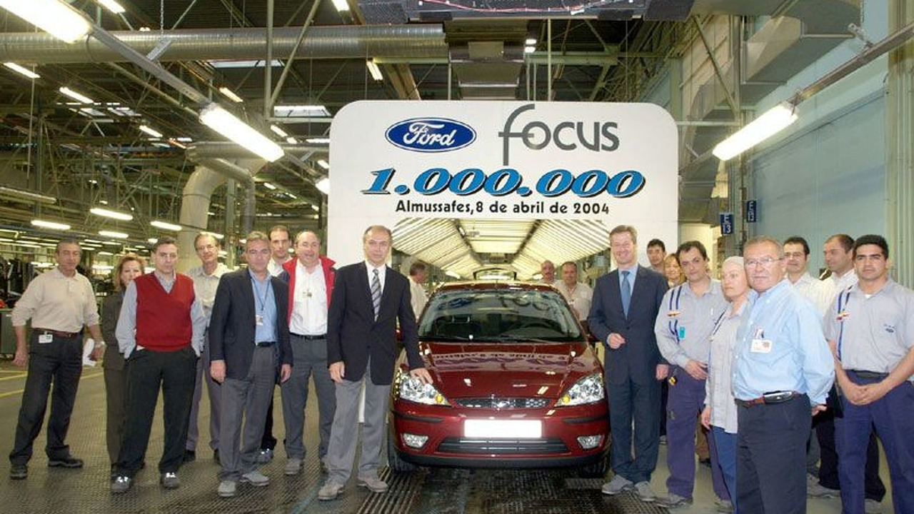 One-Millionth Ford Focus