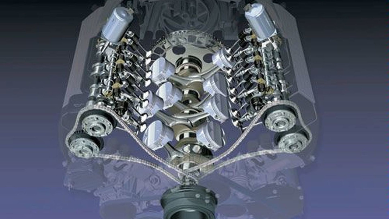 BMW 4.4 liter VALVETRONIC Engine