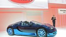 Bugatti Veyron Grand Sport Vitesse in Geneva