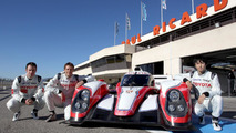 Toyota TS030 HYBRID Le Mans race car officially unveiled