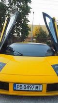 Lamborghini Muricelago replica based on a Toyota MR2