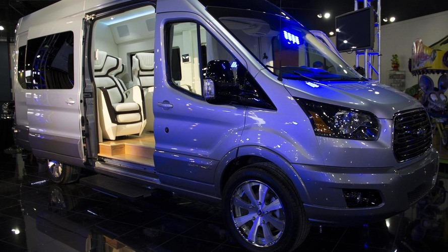 Ford Transit Skyliner concept by Galpin Auto Sports revealed ahead of New York debut