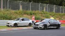 2014 BMW M3 Sedan spy photo