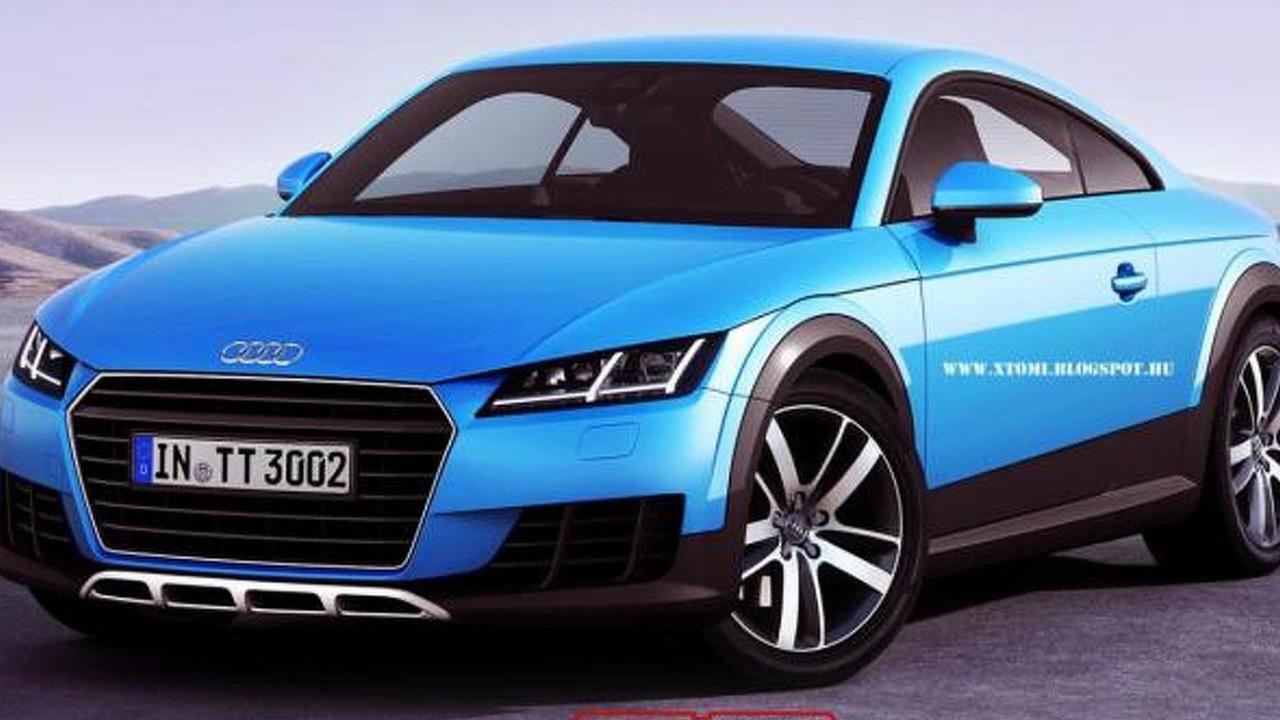 Audi TT Allroad render