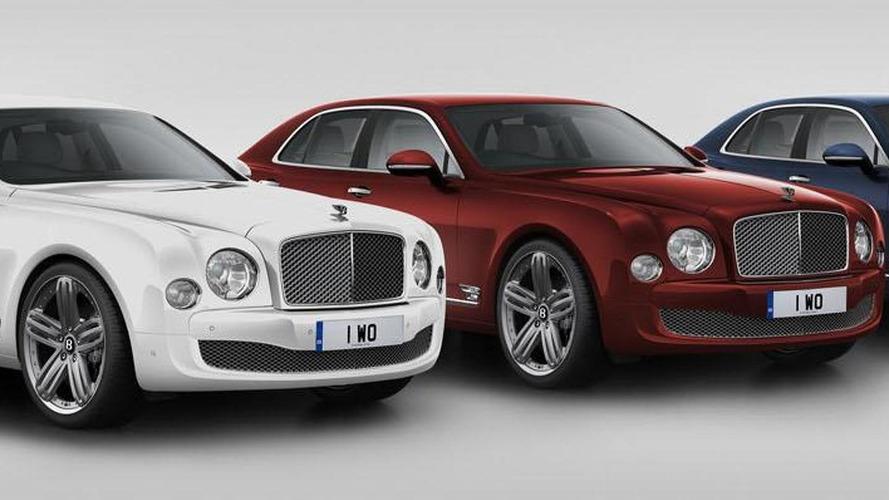 Bentley Mulsanne 95 revealed, celebrates the company's 95th anniversary
