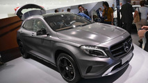 2014 Mercedes-Benz GLA live at 2013 Frankfurt Motor Show 10.09.2013