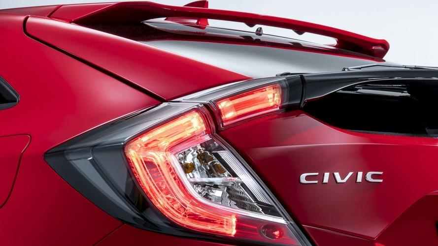 2017 Honda Civic Hatchback teaser and Jazz Spotlight Edition