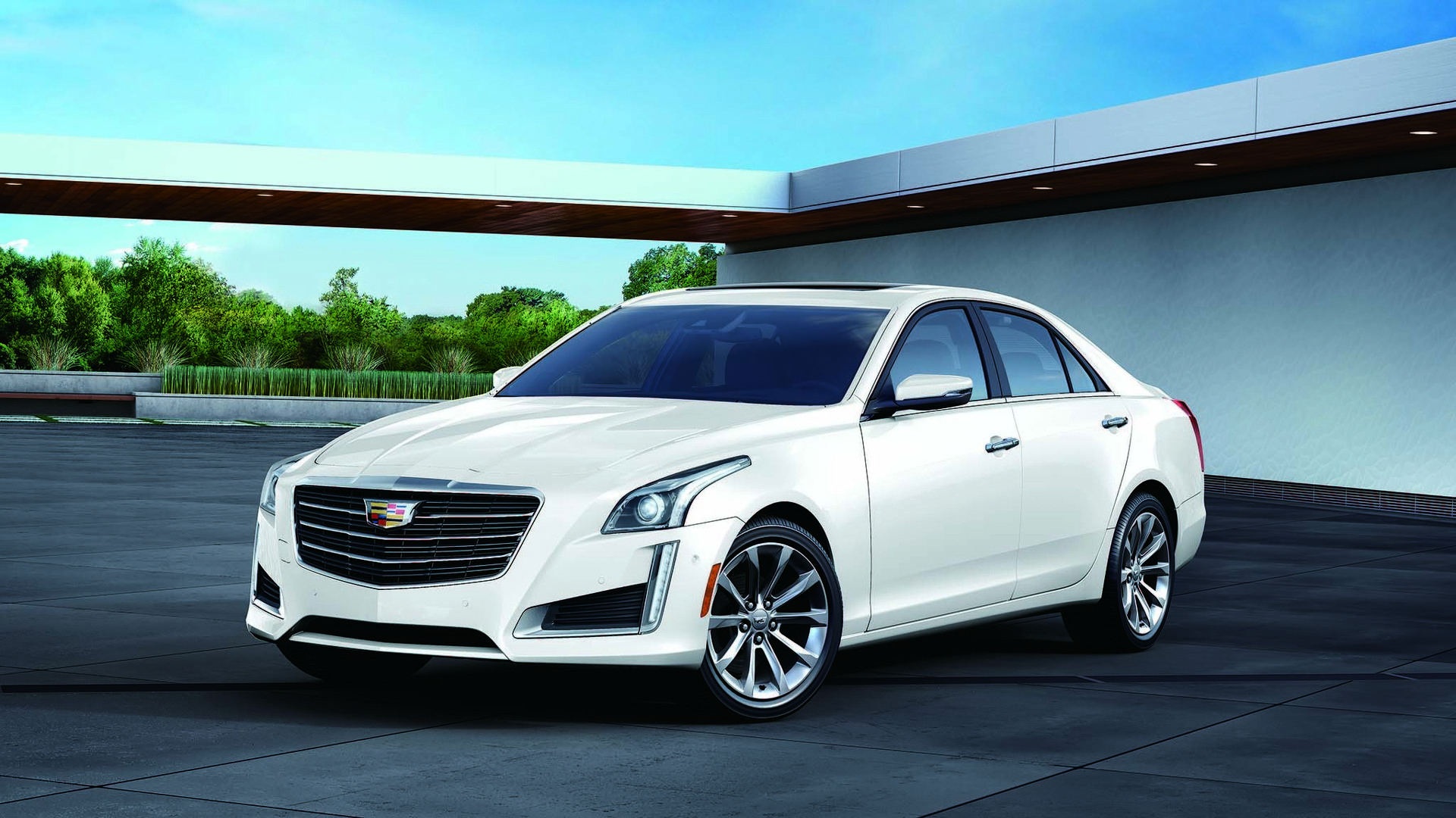 cadillac ats cts gain white edition in japan. Cars Review. Best American Auto & Cars Review