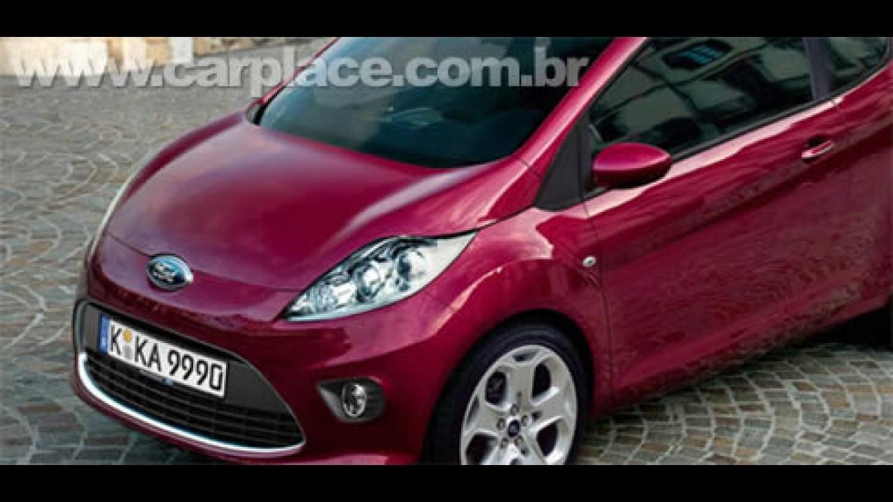 Projeção: Novo Ford KA 2009 Europeu inspirado no conceito Verve