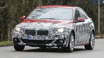 BMW 1 Series Sedan drops some camo in latest spy pics