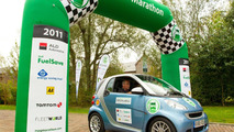 Smart CDI wins the MPG Marathon with a 99.24 mpg rating