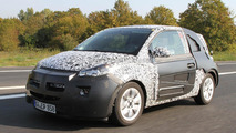 2013 Opel Allegra/Junior - new city car - spied 27.09.2011