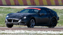 New Ferrari Dino spied at Fiorino test track