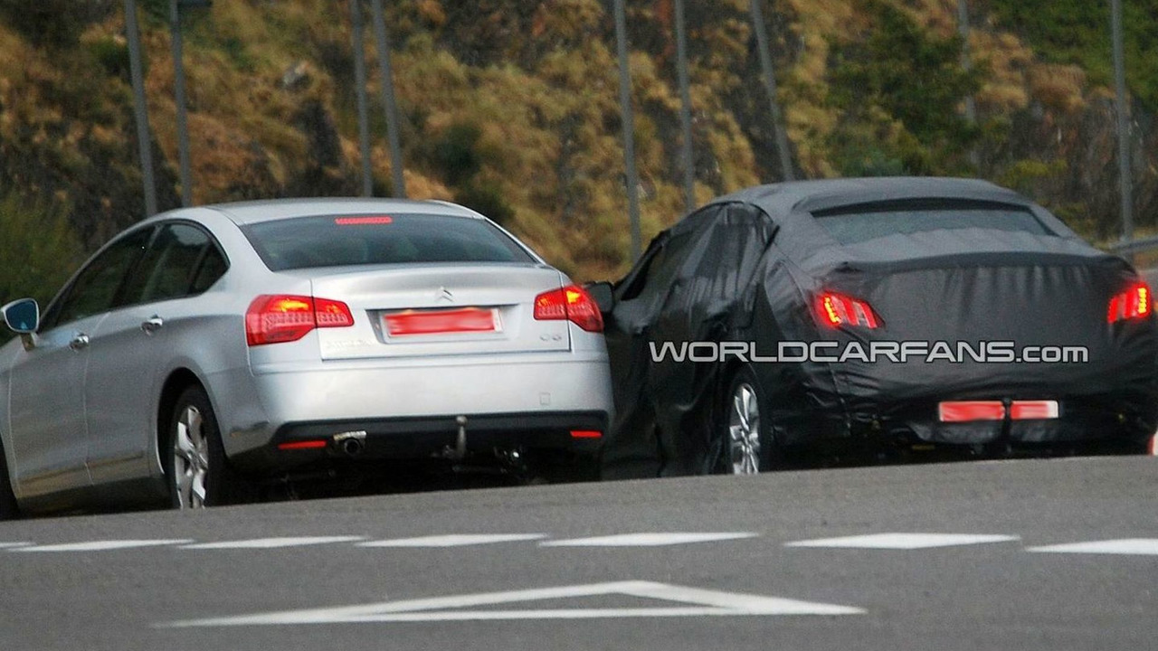 2011 Peugeot 408 First Spy Photos