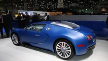 Bugatti Veyron Centenair Bleu Edition in Geneva