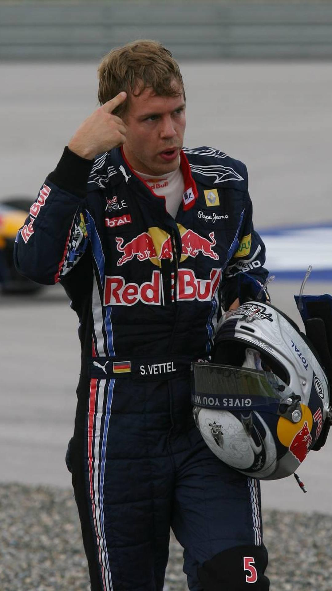 Inexperienced Vettel learning from mistakes - Horner