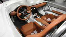 Mazda MX-5 Superlight Concept live at 2009 Frankfurt Motor Show