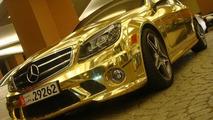 Chrome Mercedes C63 AMG