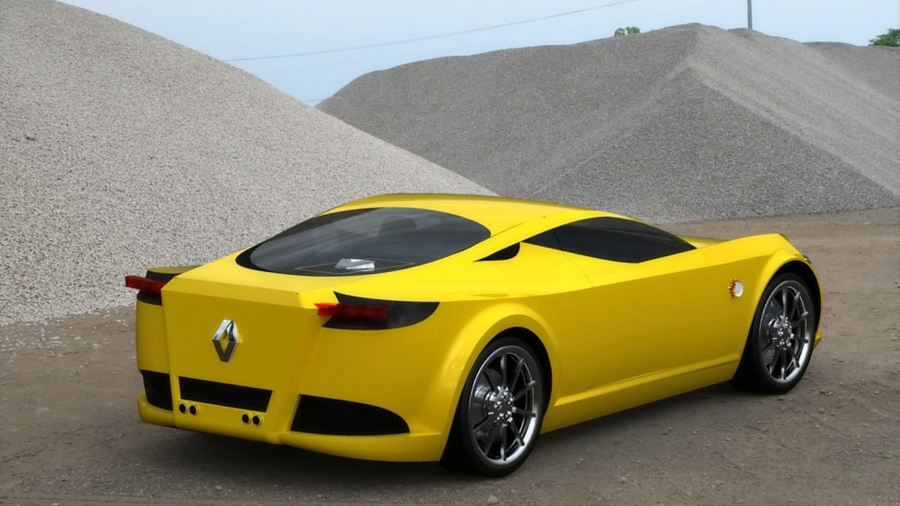 Renault Alpine Concept Artists Rendering