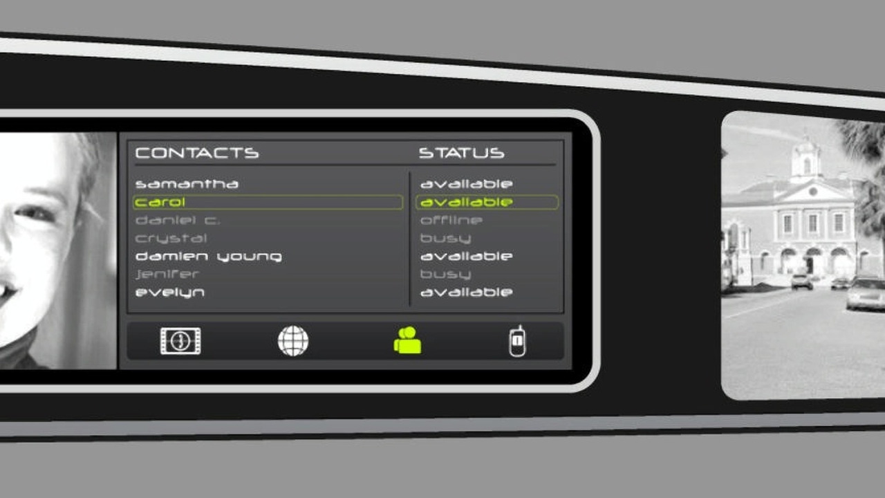 Ford SYNC future concept with HMI technology