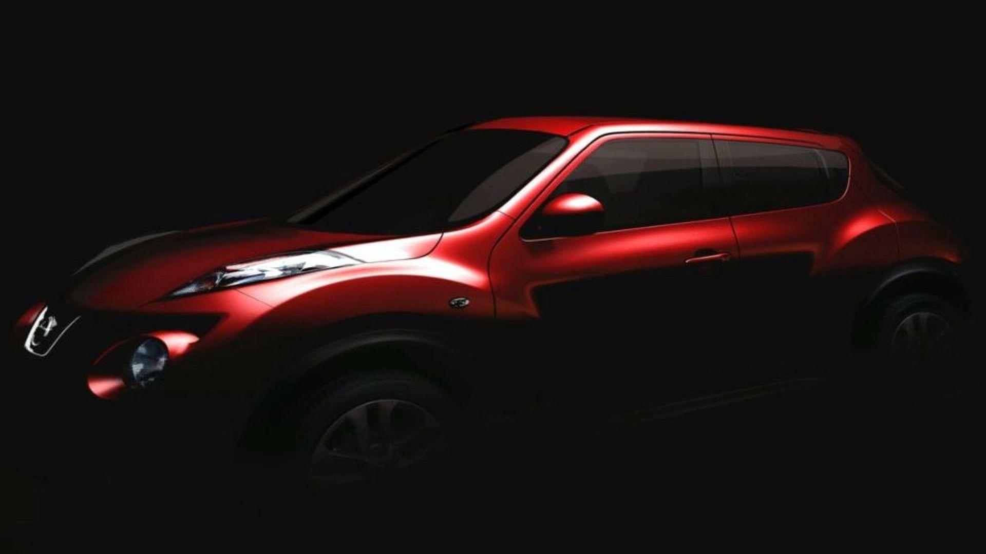 Nissan Juke Crossover aka Qazana Confirmed and Teased