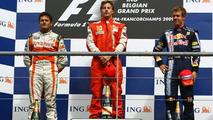 Kimi wins, Fisi stars, Vettel profits in Belgian Grand Prix