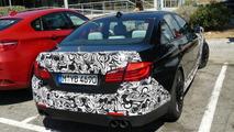 BMW M5 F10 spy photo, Barcelona, Spain 09.08.2010