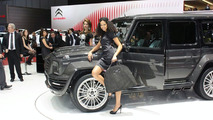 Mercedes-Benz G 55 AMG by Mansory shows its carbon fiber body [video]