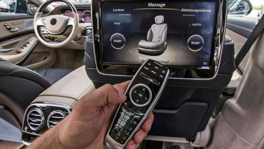 2014 Mercedes-Benz S-class new interior photos available
