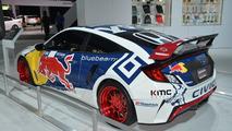 2016 Honda Civic Coupe Rallycross live at New York Auto Show
