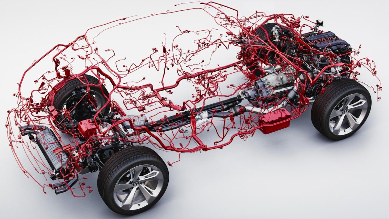 Bentley Bentayga wiring harness