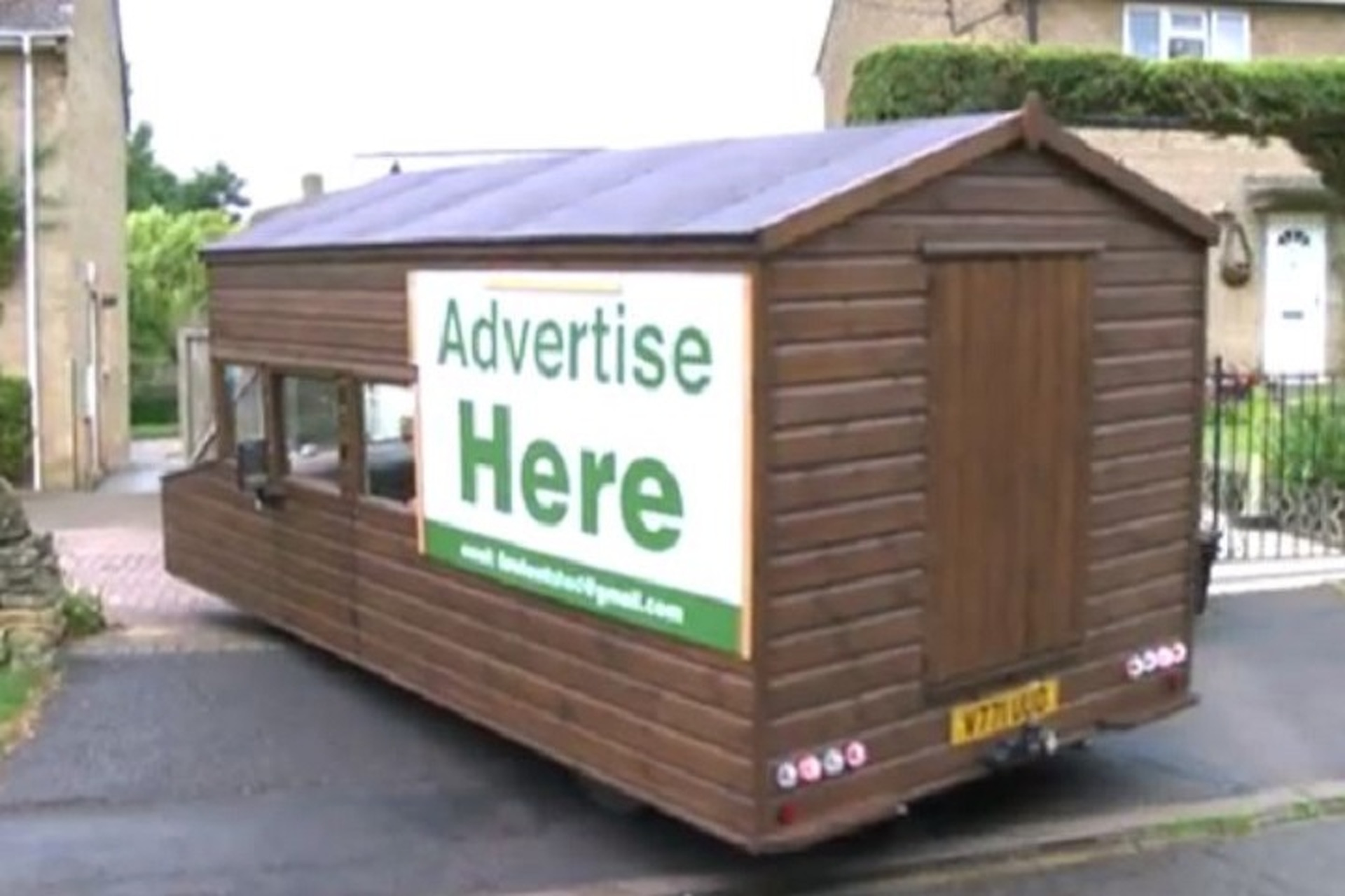 """This May Be The """"World's Fastest Garden Shed"""""""