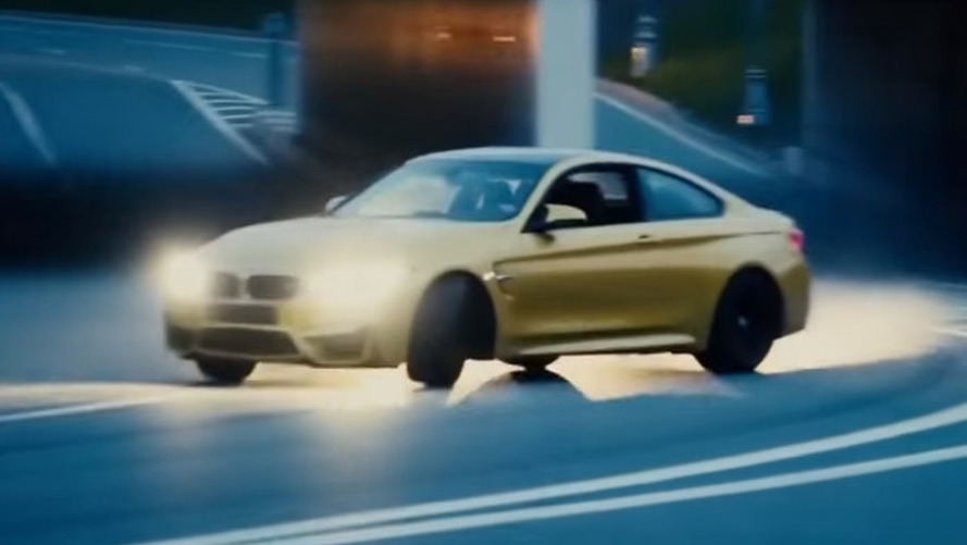 Reckless BMW M4 driver drifts past Moscow police, endangers lives